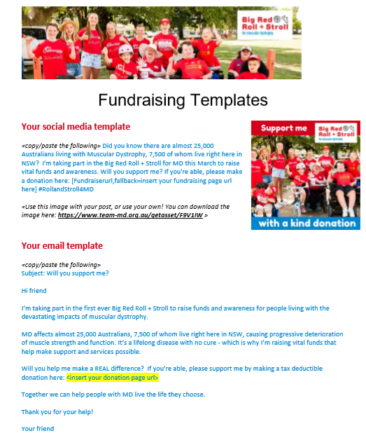 Email + Social Templates