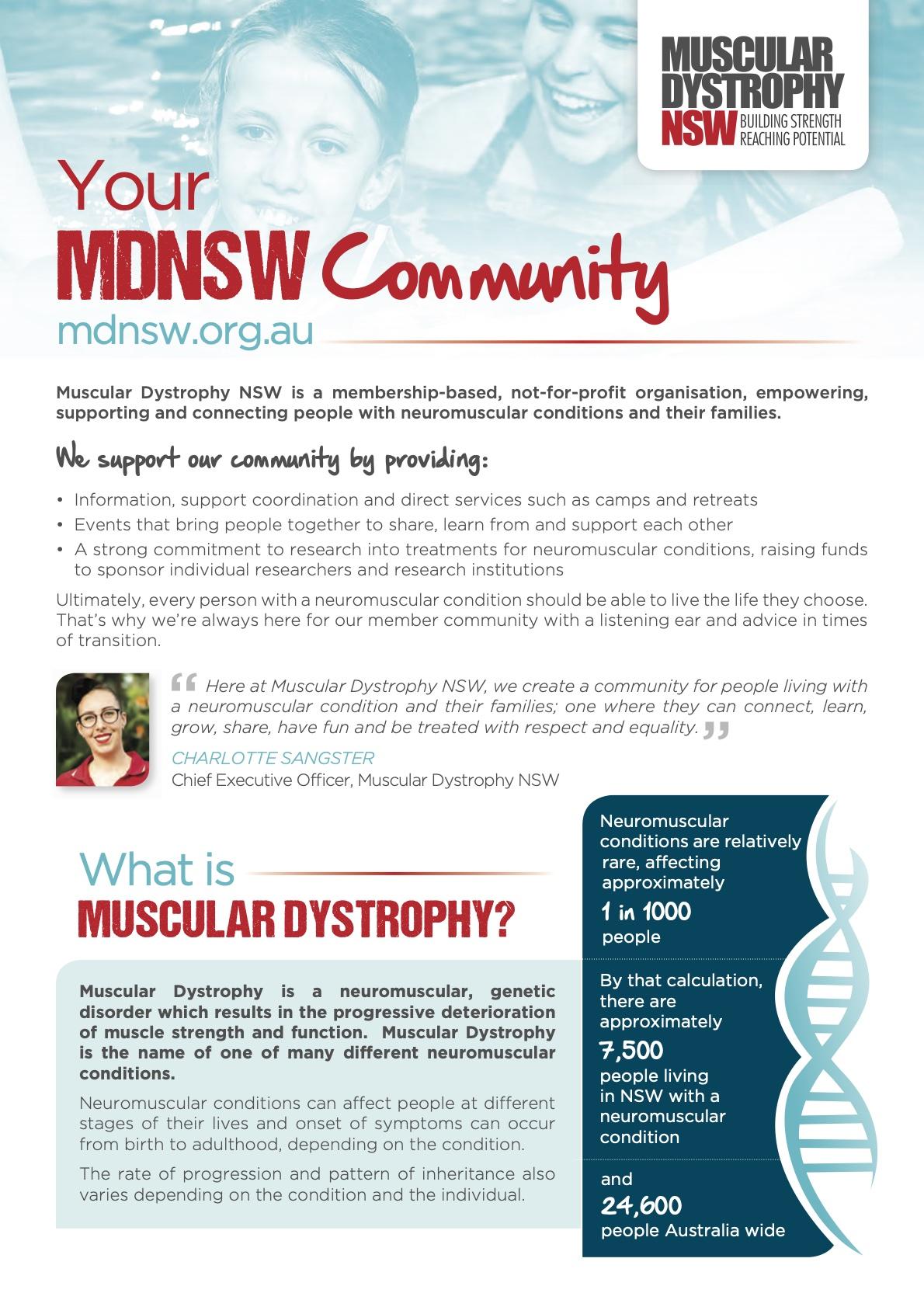 MDNSW Factsheet